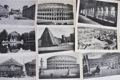 Old black and white photos of Rome in Okinawa, Japan