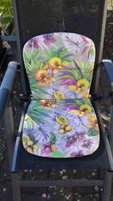 6 Matching Lawn Chair Cushions in Spangdahlem, Germany