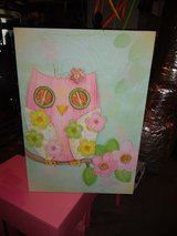 Owl canvas picture in Fort Campbell, Kentucky