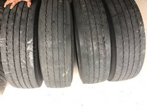 USED RV TIRES 245/75/19.5 Dunlap in Conroe, Texas