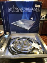 Brand New American Fireglass Fire Pit Insert - New in Box in Naperville, Illinois