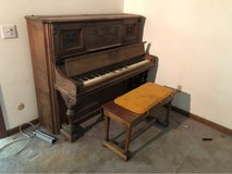 old piano in Naperville, Illinois