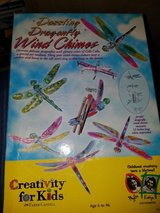 Creativity for kids dazzling dragonfly wind chimes DIY in St. Charles, Illinois