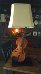 Fiddle/Violin Table Lamp in Houston, Texas