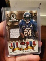 """BEAST MODE"" 2013 ""All Pro"" Crown Royal MARSHAWN LYNCH Jersey Cards /299 in Tacoma, Washington"