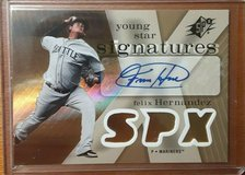 2007 Upper Deck SPX- FELIX HERNANDEZ Young Star AUTOGRAPH card in Tacoma, Washington