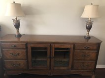 Ashley Furniture Wood Cabinet in Baytown, Texas
