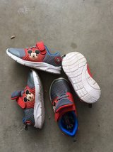 Mickey Mouse toddler size 10, 2 pairs in Fairfield, California