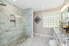 Bathroom Remodel for Less in The Woodlands, Texas