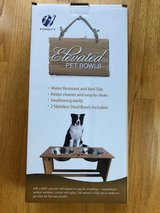 ELEVATED PET BOWLS FOR SMALL - MEDIUM SIZED DOGS/CATS in Naperville, Illinois