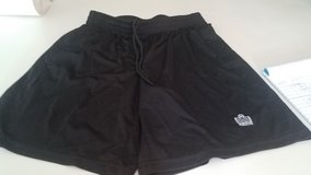 Boy's Admiral Black Soccer Shorts, Size M in Plainfield, Illinois