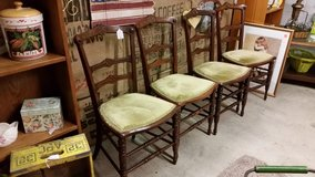 4 Vintage Dining Chairs SALE in Fort Campbell, Kentucky