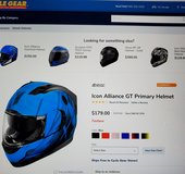 Icon Alliance GT Primary Helmet in Camp Pendleton, California