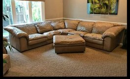 leather sectional couch in Naperville, Illinois