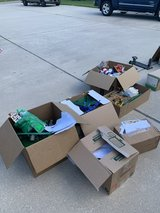 5 Boxes of Geo-tracks with prints outs in Baytown, Texas