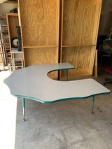 U-shaped table in Naperville, Illinois