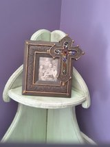 Picture frame with cross in Kingwood, Texas