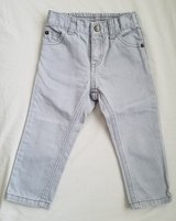 Brand New! Boys Light Grey Crazy 8 Jeans, Size 18-24M in Clarksville, Tennessee