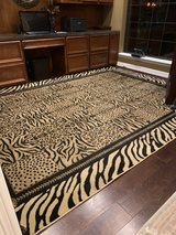 animal print rug in Baytown, Texas