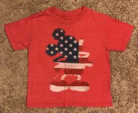 Disney Mickey Mouse Flag T-Shirt, Boys XS in Fort Campbell, Kentucky