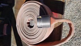 """3"""" Fire Hoses in Yucca Valley, California"""