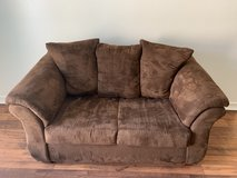 Brown Polyester Fiber Couch / Sofa / Love Seat (2 seats) in Camp Pendleton, California