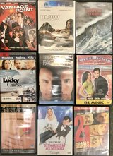 Grosse Point Blank, So I Married An Axe Murder, more... lot of 9 DVD movies sold as a set in Okinawa, Japan