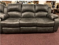 United Furniture - Kenia - Sofa-Loveseat-Chair in black or brown  including delivery in Stuttgart, GE