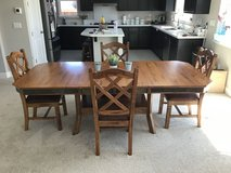 Kitchen table and chairs in Travis AFB, California