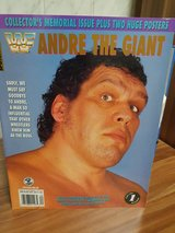 WF ANDRE THE GIANT Collector's Memorial Issue in Ramstein, Germany