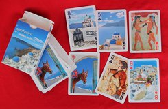 Greek playing cards from Santorini in Okinawa, Japan