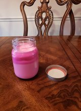 2 TONE STRAWBERRY CANDLE WITH JEWELRY INSIDE in Clarksville, Tennessee