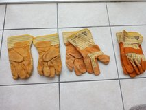 Leather gloves, good quality,size 10, good for garden or building in Lakenheath, UK