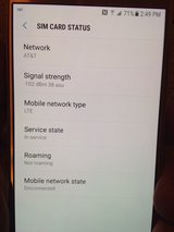 Unlocked Samsung Galaxy S6 175 or trade for windows 10 laptop in Baytown, Texas