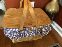 Longaberger Large Picnic Basket in Aurora, Illinois
