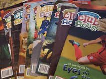 Club house and jr club house magazines in Travis AFB, California
