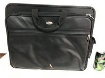 Computer and document bag real leather , new in Okinawa, Japan