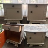 Vintage End Tables, Bedside Tables, Night stands, Cabinets, Schranks, Night in Ramstein, Germany