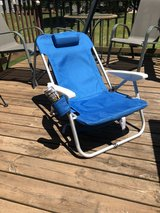 New Beach Chair, 3 position recliner in Naperville, Illinois