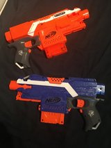 "Nerf N-Strike Elite ""Stryfe"" Blue and Orange in Ramstein, Germany"