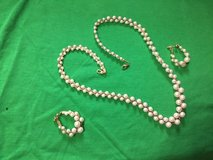Pearls with matching Earrings in Camp Lejeune, North Carolina