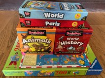 Brain Box Games and World Puzzle in Lakenheath, UK