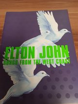 Elton John Concert Tour Programme Songs from West Coast in Ramstein, Germany