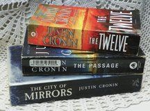 THE PASSAGE - DYSTOPIAN Sci-Fi Books, Complete Trilogy - Justin Cronin in Alamogordo, New Mexico