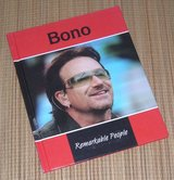 Bono Remarkable People Hard Cover Book U2 in Chicago, Illinois