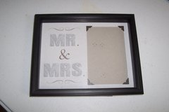 Mr and Mrs frame in Conroe, Texas