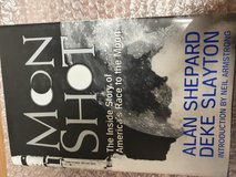 Moon Shot America Race to the Moon Book in Ramstein, Germany
