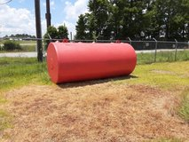 2000 gallon fuel tank in Livingston, Texas