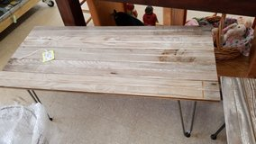 Reclaimed Wood Coffee Table with Hairpin Legs #3484-4 in Camp Lejeune, North Carolina