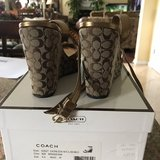 Authentic Coach Wedges Size 6 in Camp Lejeune, North Carolina